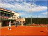 """12.04.12 : """"Hier j'ai commencé à m'entraîner sur terre au Club de tennis de Manacor, afin de me préparer pour Montecarlo et Barcelone !"""""""