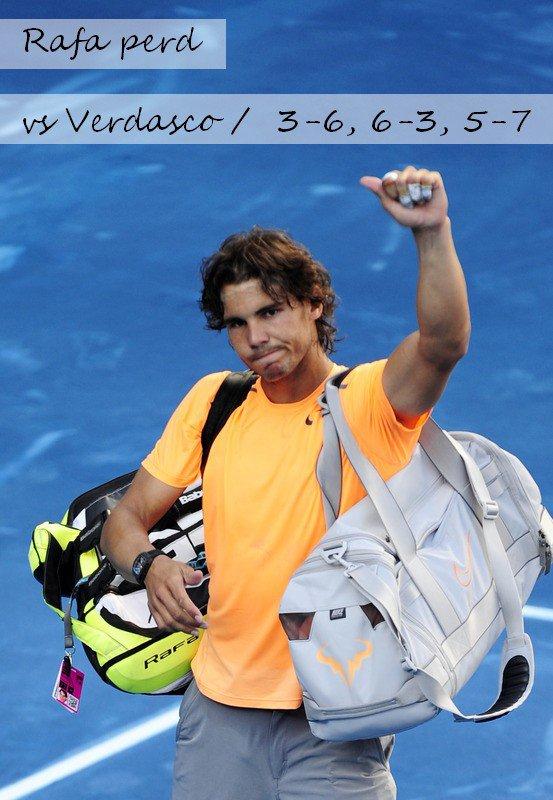 Madrid 2012 / 04 : Une défaite, une !