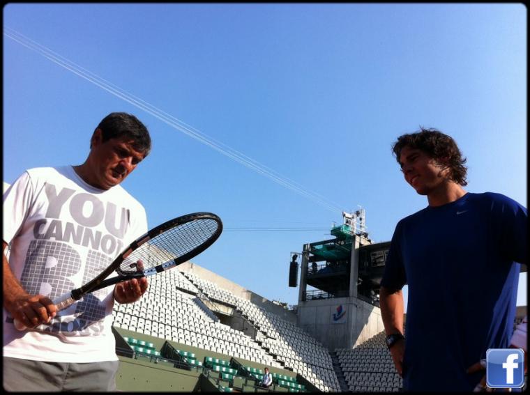 Roland Garros 2012 / 01 : Mise en bouche