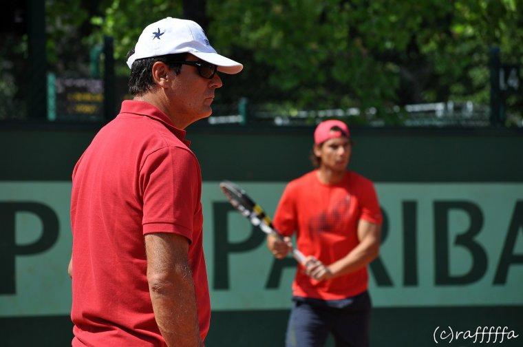 Roland Garros 2012 / 05 : 1er tour et entraînement en rouge