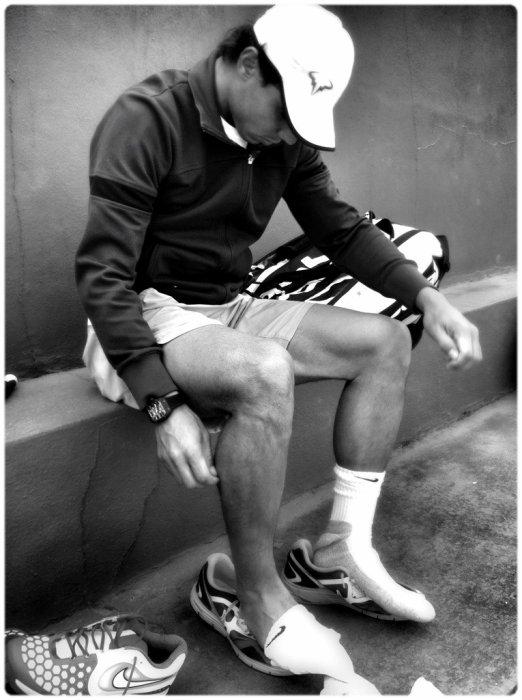 Rafael Nadal en long en large et en travers !