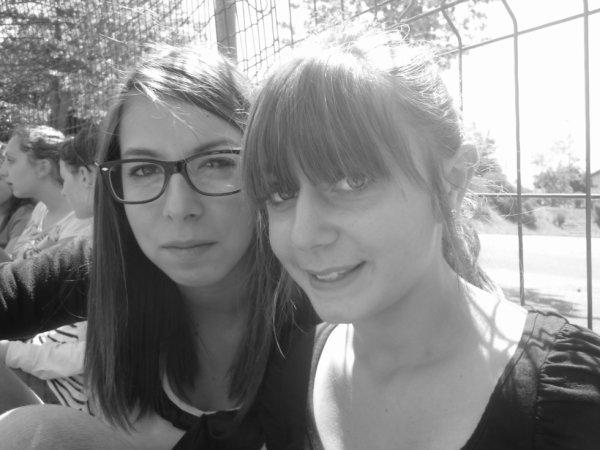 Lauraine et moi