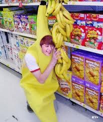 Les fameuses bananes!