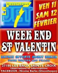 Week end Saint Valentin - Vendredi 11 et Samedi 12 Février 2011