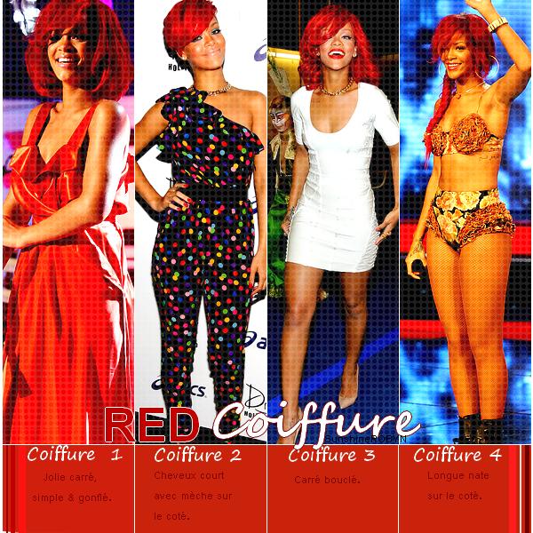 Article : # o1  Cheveux : RED Coiffure  .  Quels est ta coiffure favorite ? Celle que tu aimes le moins ? Offres - Newsletter