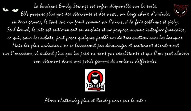 A toutes les fans de Emily The Strange !