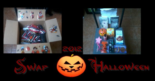 SWAP Halloween 2012, via Livraddict