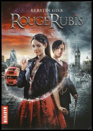 La Trilogie des Gemmes, Tome 1 : Rouge Rubis, de Kerstin Gier
