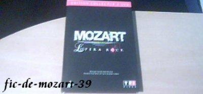 Collector 2 DVD de Mozart l'opéra rock