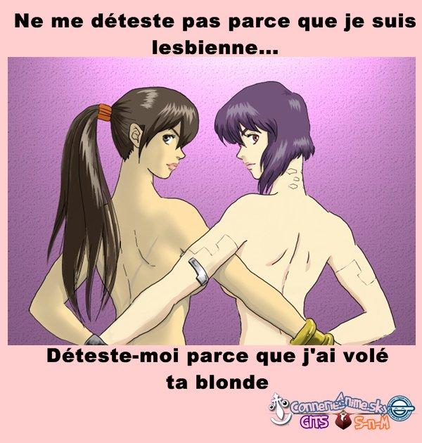 Être lesbienne...