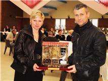 Trophé  gagné au Calc de Calonne en 2009