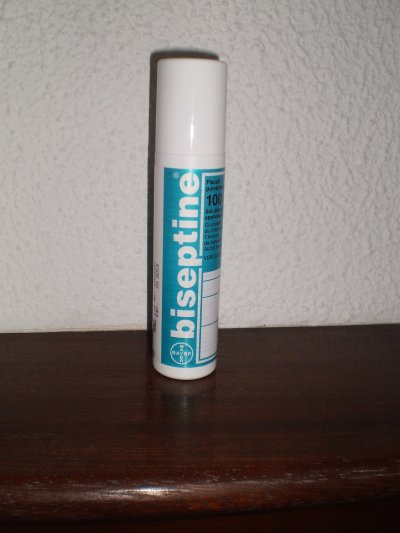 biseptine spray how to use