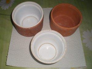 """Rendre les Pots de terre cuite étanche tout bete et tout """" con """""""