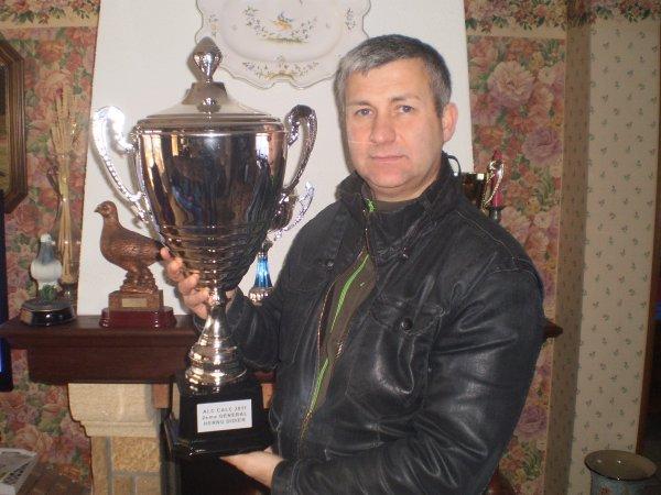 Ma coupe au ALC CALC 2 ème au Général 2011 au 5 championnats réunis
