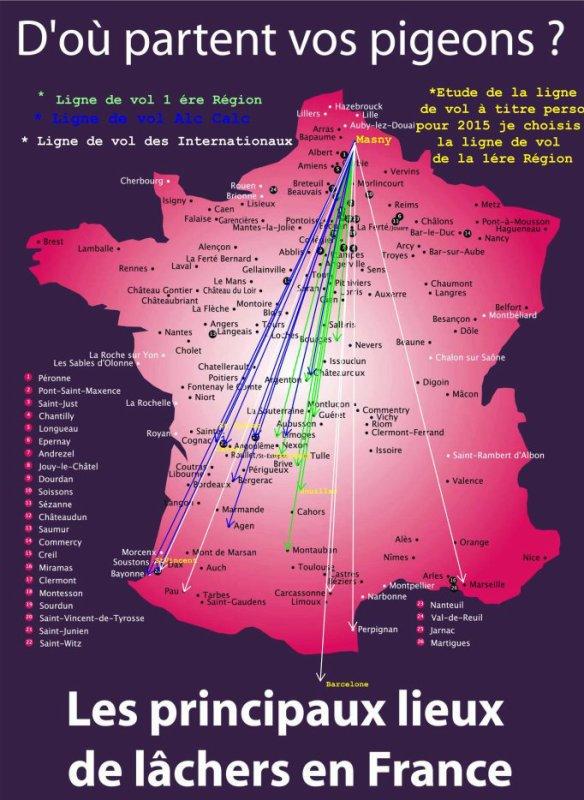 """Les Heures de Lacher  """" Treignac Fédéral du 15/06/19  """" 5Vx et  74 1an"""