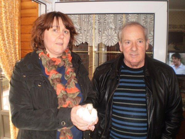 Mr et Mme cousin Patrick et Marie de Templeuve le 05/04/13
