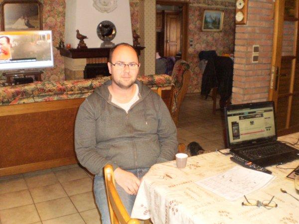 Mr Quignon Sébastien en visite sur Aix Noulette ce 07//11/13