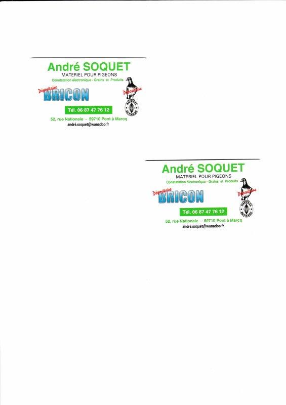 Mr Soquet André Détaillant en Matériel Bricon et de Produit Natural a Pont à Marcq et Violaine