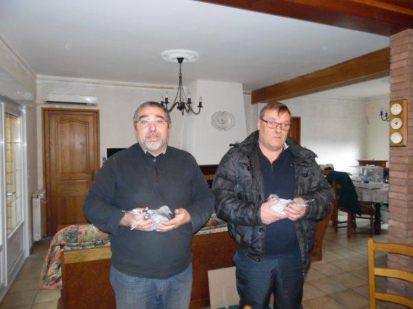 Nos Amis blogeurs Bruno et Eric en visite sur Aix Noulette