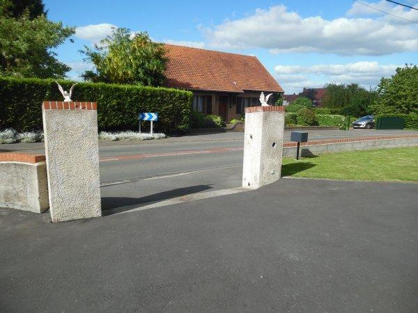 Installation d un portail Autoportant ce 10/06/15