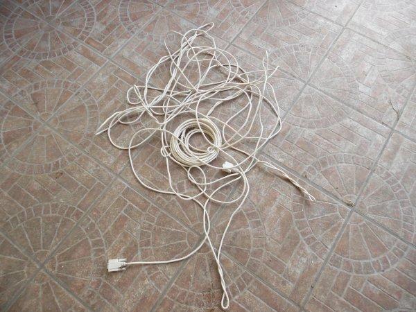 Problème d un cable Bricon a l arrivée de St Just du 14/06/15 /// 51prix/83pigs