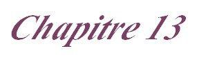 Chapitre 13