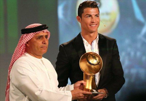 Monde : Cristiano Ronaldo récompensé