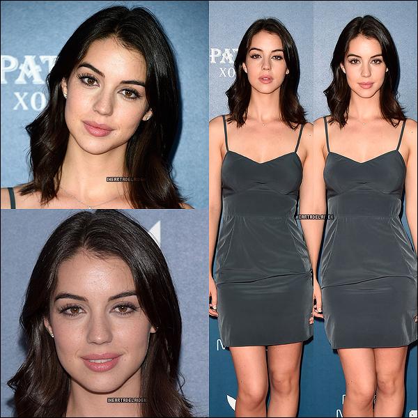 29 Juillet 2014 ▬ Adelaide à la fête de Playboy et A&E bates motel du Comic con de San Diego le 25 juillet dernier