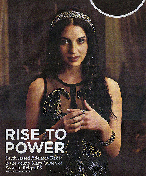 29 Juillet 2014 ▬ Scans du magazine West Australian