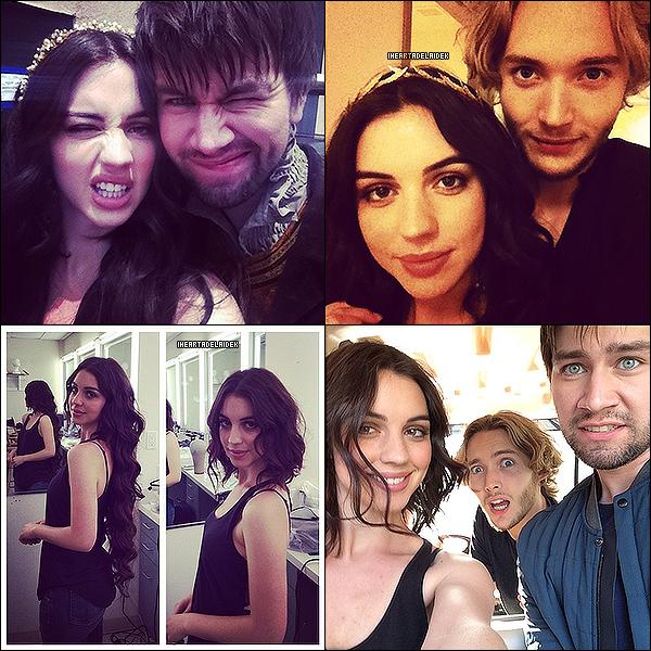 2 Août 2014 ▬ Behind The Scene des photoshoots pour la saison 2