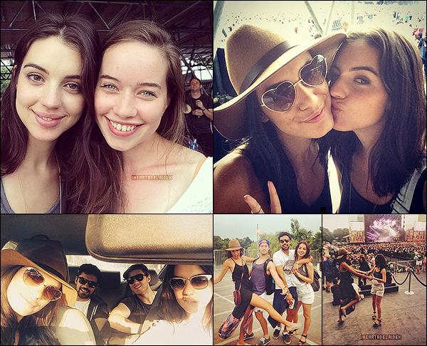 4 Août 2014 ▬ Adelaïde au Festival de Osheaga qui s'est déroulé le week-end du 2 août