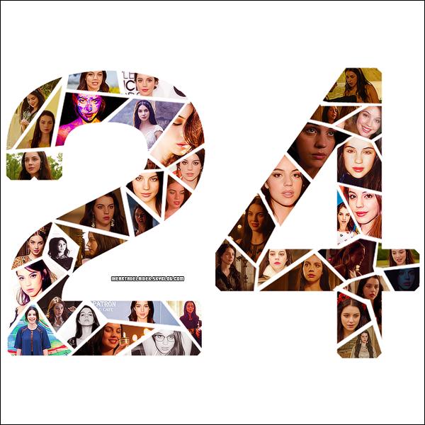 9 Août 2014 ▬ Bon anniversaire à Adelaïde qui fête ses 24 ans !