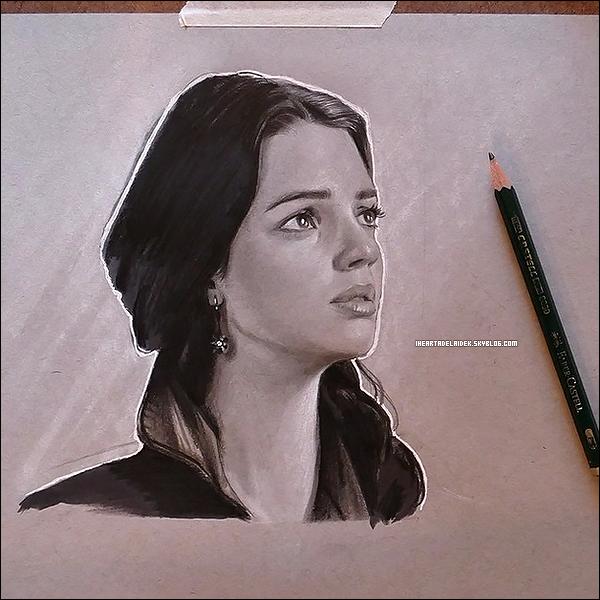 17 Août 2014 ▬ Fan art de Mary fait par xchasingpavementsx