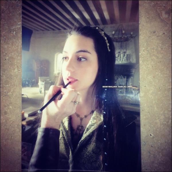 _ 20 Août 2014 - Photos de Ranma posté par Ade sur Instagram & une nouvelle photo Behind the scene d'Ade. _