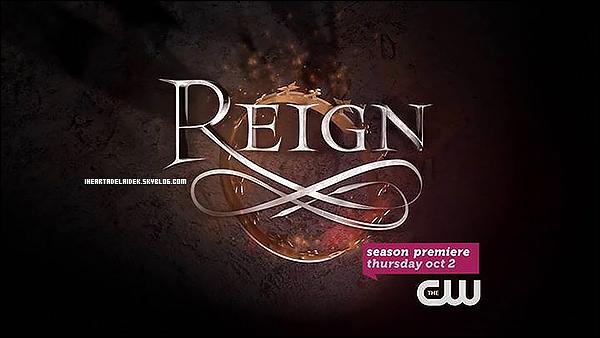 _ 22 Août 2014 - Nouvelle promo de l'épisode 1 de la saison 2 de Reign _