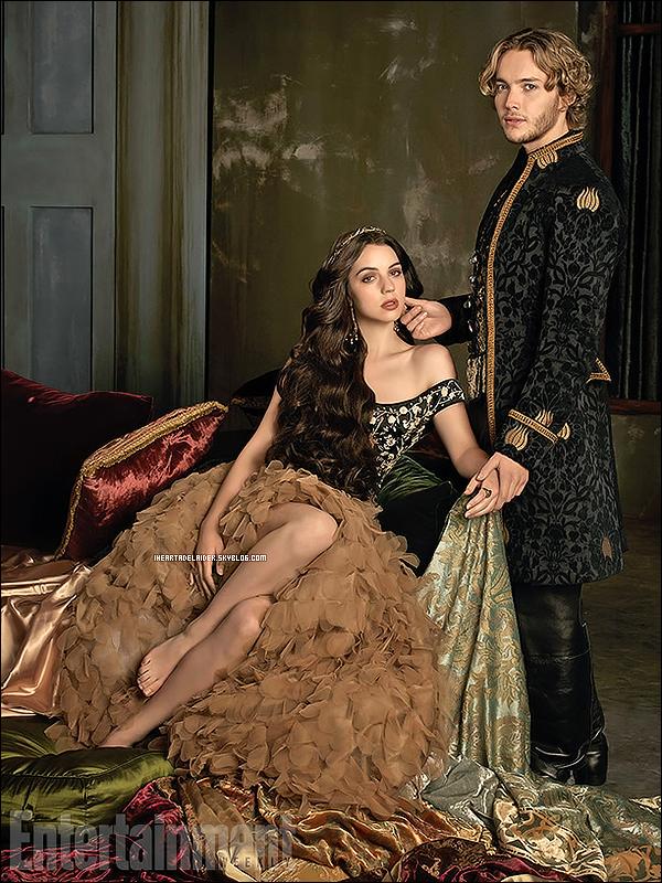 _ 28 Août 2014 - Nouvelle photo promo de la saison 2 de Reign où on peut voir Mary & Francis _