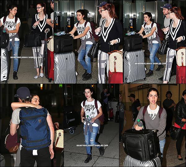 _ 04 Septembre 2014 - Adelaide qui arrive à l'aéroport de Toronto avec Torrance & Alyssa _