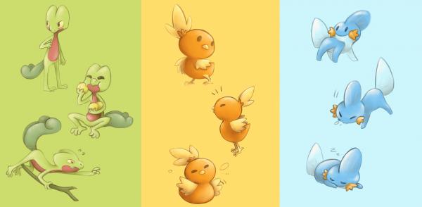 C'est dangereux de s'aventurer seul, prend un de ces pokemons !