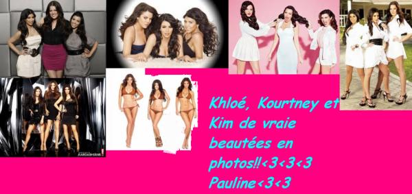 The soeurs Kardashians