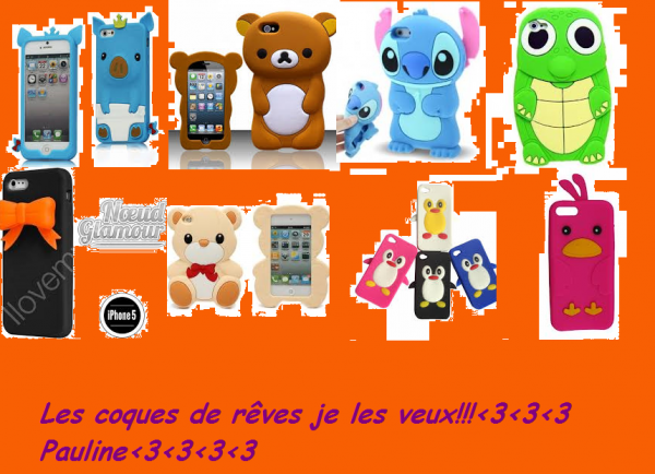 coques d'iphone 5