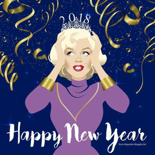 très belle année à vous ! je vous love !