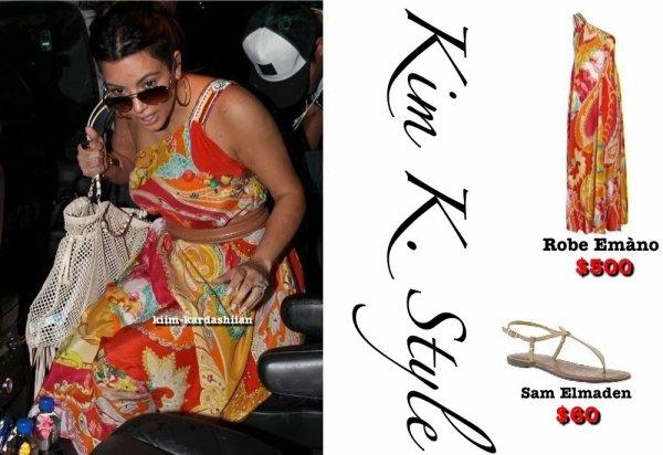Look du 26 août de Kim. Tous est fait et rechercher par moi-même !