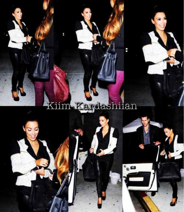 """24/10/11. Kim et allée manger au restaurent """"Nobu"""" à Hollywood avec Kris et Khloé."""