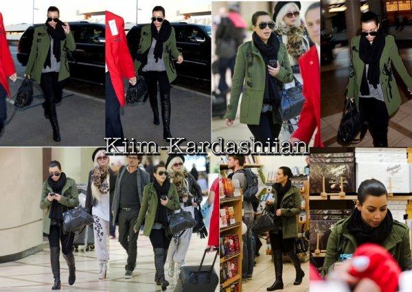 08/11/11. Kim a été repéré à l'aéroport de Los Angeles le LAX afin de se rendre à Atlanta.