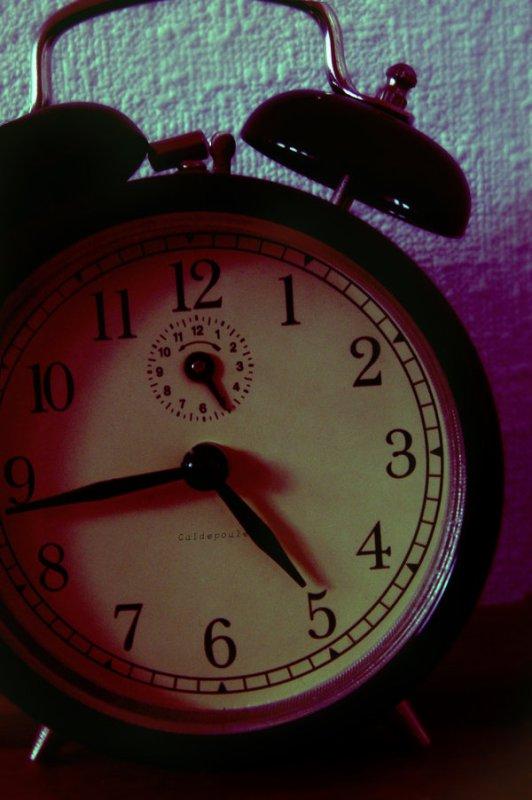 """""""La seule chose que l'on ne possède pas, c'est le temps"""""""