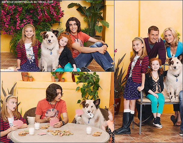 Photo promotionnel de G. & le cast pour la saison 2 de doggy blog.→ Je trouve les photos, les photoshoot WAA magnifique *_*