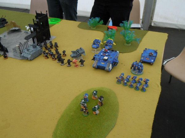 alliance avec un ami space marines