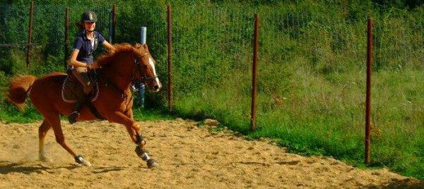 J'étais juste une cavalière, et je suis devenue sa cavalière. Je vous jure, ca change une vie.