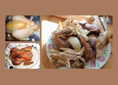 48 - Poulet rôti au citron et aux oignons