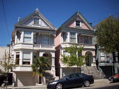 SAN FRANCISCO - Maisons victoriennes
